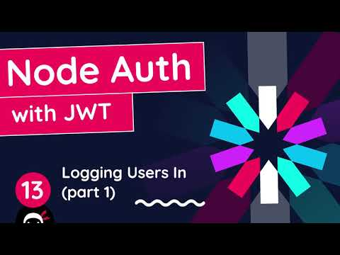 Node Auth Tutorial (JWT) #13 - Logging Users in (part 1)