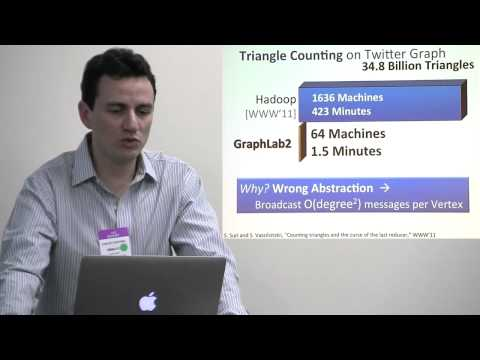 GraphLab: A Distributed Abstraction for Machine Learning in the Cloud. by Carlos Guestrin 20130128