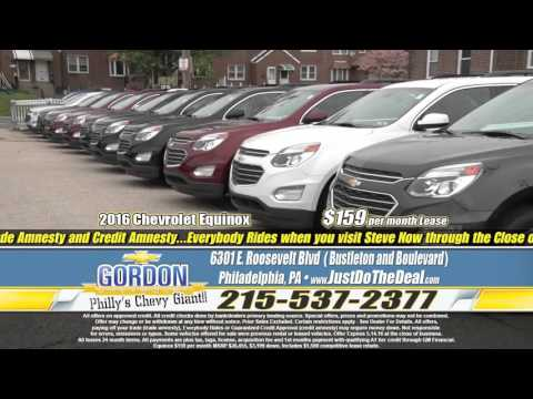 """Over 400 Vehicles! Just Do The Deal!"" Gordon Chevrolet, Philadelphia PA"