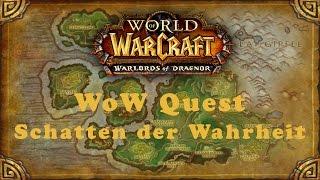 WoW Quest: Schatten der Wahrheit (H)