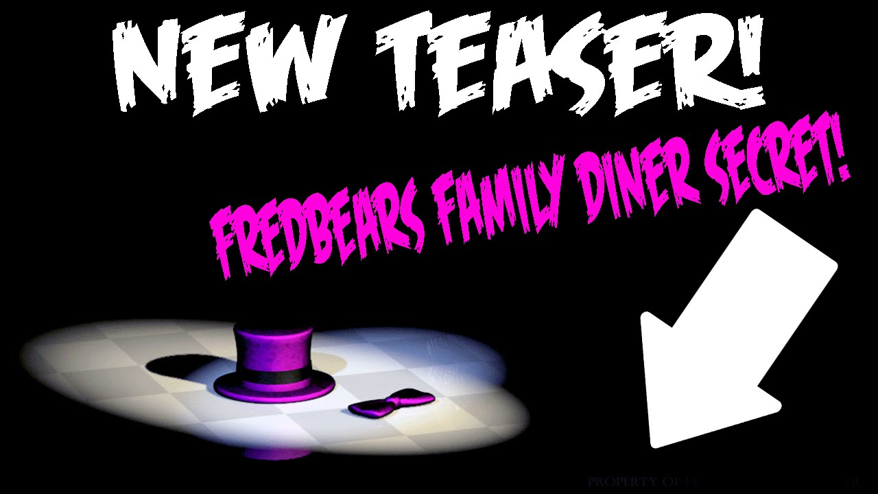 Five nights at freddys 4 fredbears family diner secret found new