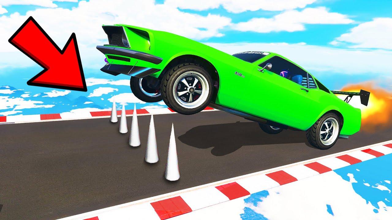 UPGRADING A SUPER WHEELIE CAR with BOB & CHOP in GTA 5! (GTA V #14)