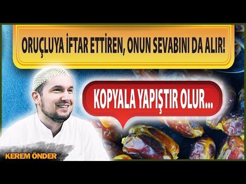 Kim Bir Oruçluya Iftar Ettirirse, Onun Sevabını Da Alır... Kopyala - Yapıştır Olur... / Kerem Önder