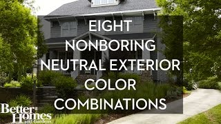 8 Non-Boring Neutral Exterior Color Combos to Copy Now