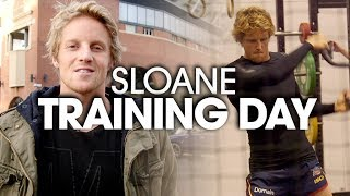 Training Day with Rory Sloane