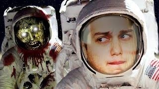 SURVIVING ZOMBIES IN SPACE - SMOSH GAMES IS BOARD!