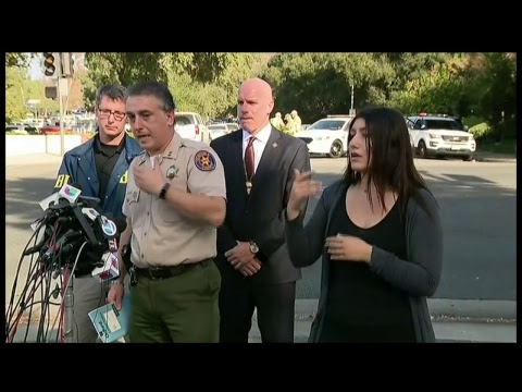 Thousand Oaks, CA Shooting Press Conference