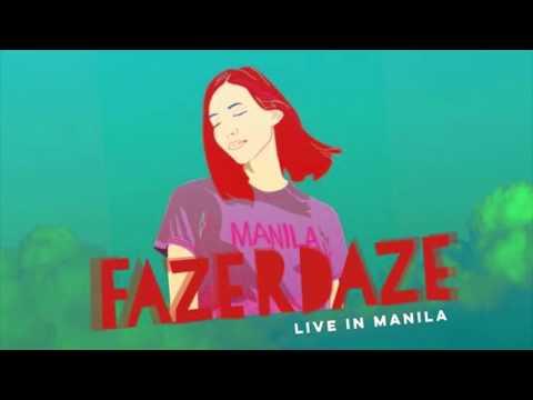 Fazerdaze live in Manila October 14, 2017