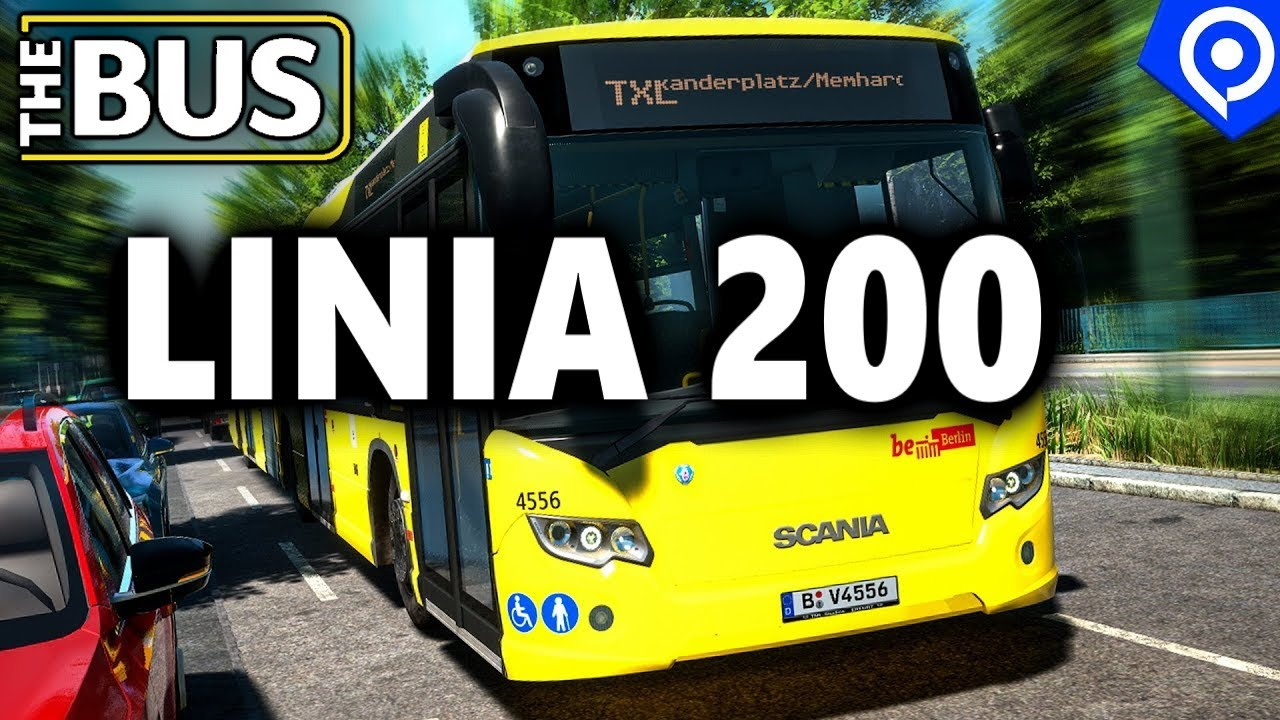 Download 🔴🅻🅸🆅🅴🔴LINIA 200  THE BUS - UPDATE 1.7 🚌 SYMULATOR AUTOBUSU