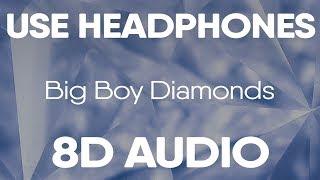 Gucci Mane - Big Boy Diamonds feat. Kodak Black (8D Audio)