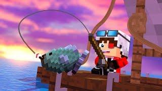 НОВЫЙ МИНИ РЕЖИМ(СИМУЛЯТОР) РУССКАЯ РЫБАЛКА! Minecraft DMS