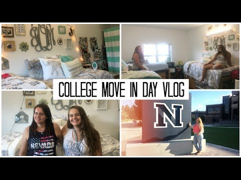 College Move In Day Vlog! // University of Nevada, Reno