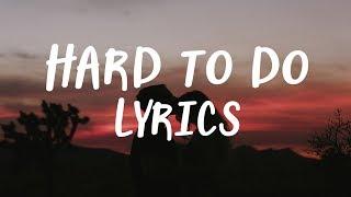 Gavin james  - Hard to do (Lyrics)