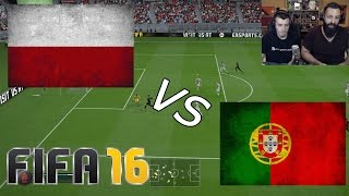 Poland vs Portugal | EURO 2016 | 30/6/16 - FIFA 16