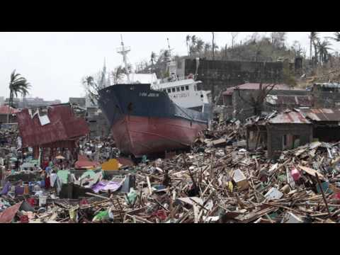 TACLOBAN before & after typhoon yolanda