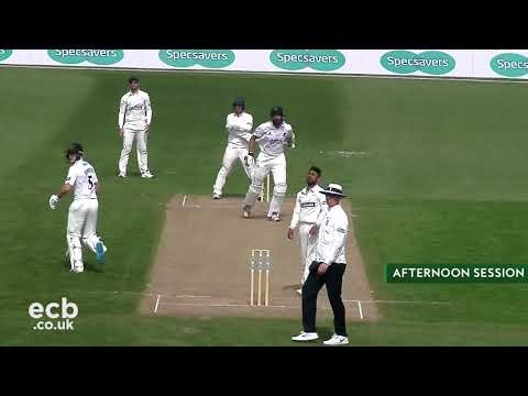 Leicestershire v Sussex CCC - Specsavers County Championship - Day Two