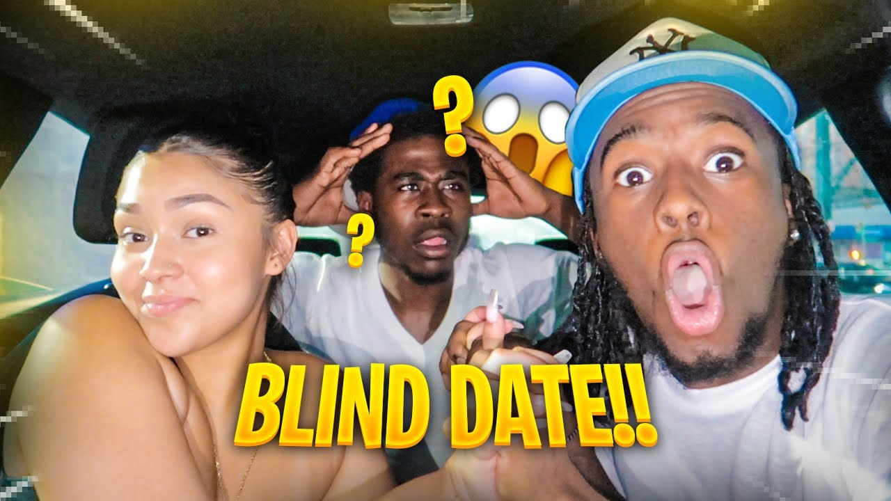 PUNGA SET ME & ASHLEY UP ON A BLIND DATE!! *GETS VERY HEATED*