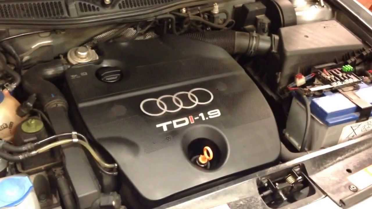 Audi A3 Tdi Ahf Engine Cold Start Youtube