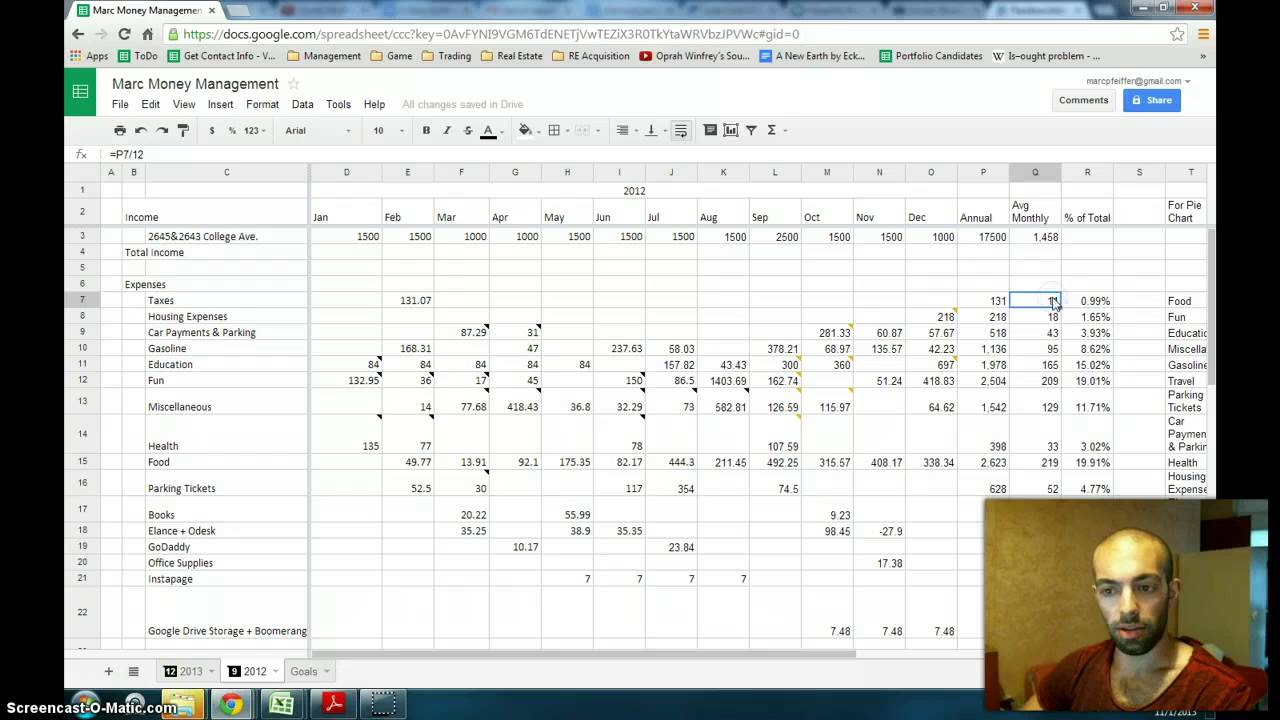how to reduce expenses by tracking your monthly expenditures youtube