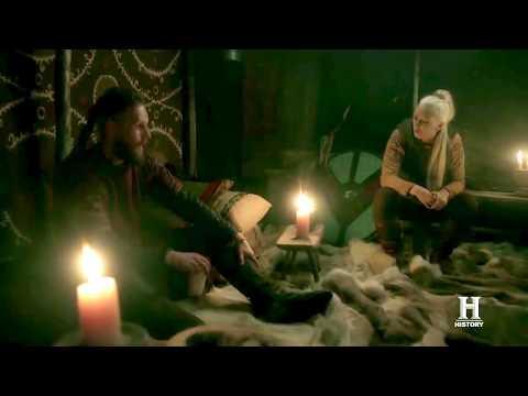 Viking 5x09 Ubbe and Torvi Kiss