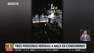 Militares dejan a dos personas heridas tras disparar dentro de condominio en Las Condes