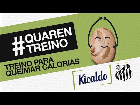 TREINO PARA QUEIMAR CALORIAS (🔥) | #QUARENTREINO KICALDO