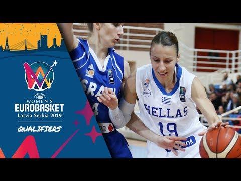 Greece v Israel - Full Game - FIBA Women's EuroBasket 2019 - Qualifiers 2019