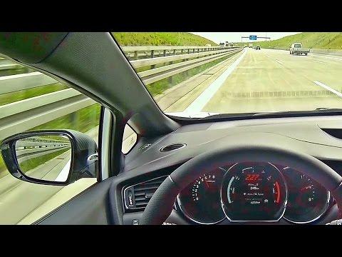 Kia Ceed GT Sound & Autobahn POV Acceleration