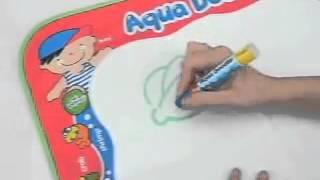 Обзор детская игрушка - Принцип ВОДНЫЕ РИСУНКИ, рисовать водой, Акваковрик Aqua Doodle kidtoy.in.ua(Заказать: https://vk.com/album-47667519_169904684 Интернет-магазин детских игрушек и хозтоваров KIDTOY - http://kidtoy.in.ua ВК - http://vk.com/ki..., 2014-11-26T22:01:15.000Z)