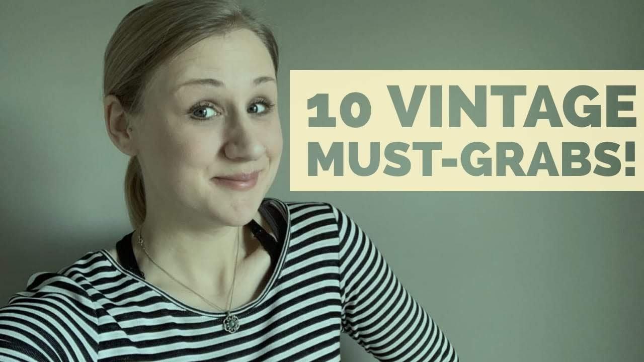 10 Vintage Items I ALWAYS Pick Up | Poshmark, Ebay, Etsy Online Reseller | Selling Online for PROFIT
