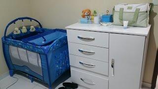 Cantinho do bebê no quarto dos pais - Tour