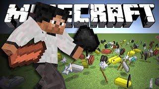 БРОСАЙСЯ ПРЕДМЕТАМИ - Minecraft (Обзор Мода)