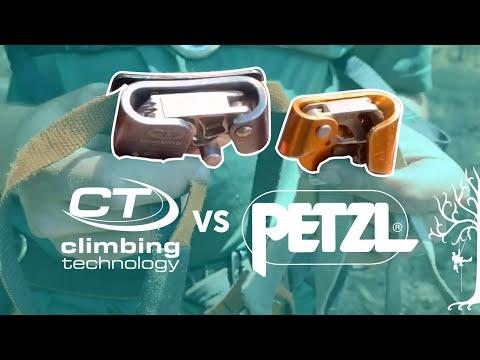 Petzl Pantin Vs Ct Foot Ascender Youtube