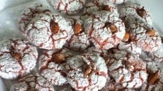 Gateau Aux Amandes Ultra Facile غربية(macarons Maghrebins) Almond Cookies