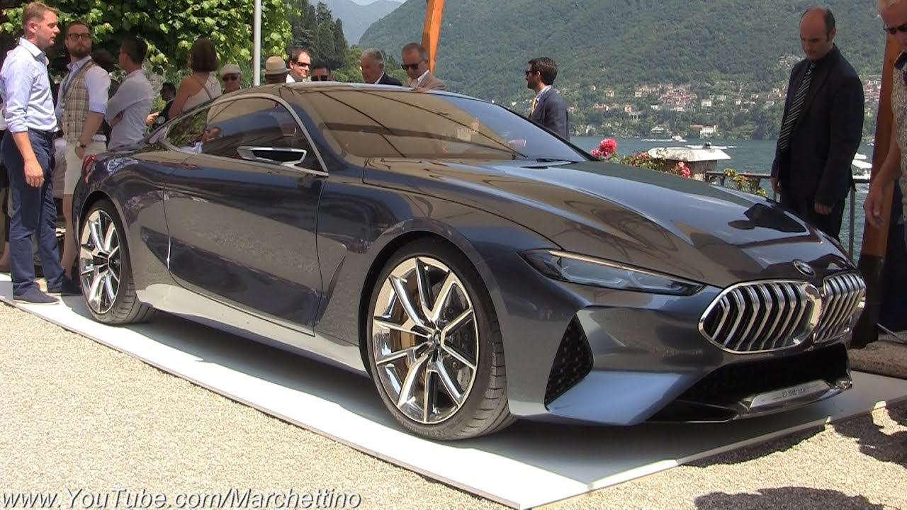 2018 Bmw 8 Series Concept World Premiere Engine Start