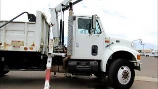 For Sale International 4900 S/A Dump Truck 5K Knuckle Boom Crane bidadoo.com