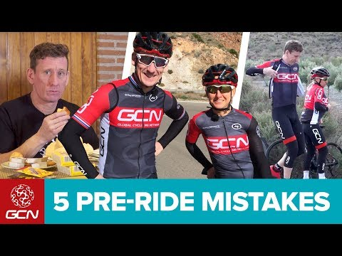 5 Mistakes Every Cyclist Has Made Before A Bike Ride