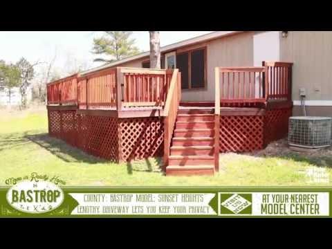 Top Move in Ready Virtual Tour Home Video in Bastrop County, Texas near Austin