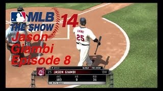 MLB 14: The Show Player Lock Jason Giambi Episode 7