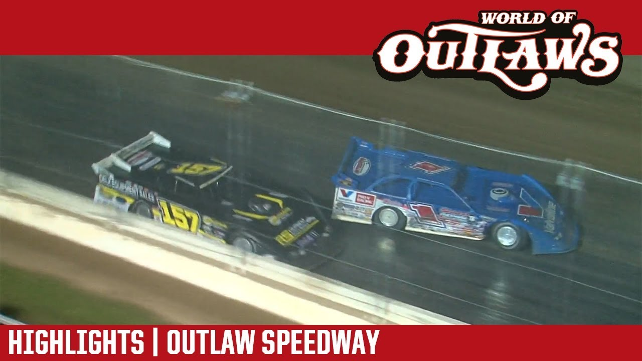 world-of-outlaws-craftsman-late-models-outlaw-speedway-september-23-2018-highlights