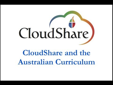 CloudShare and the Australian Curriculum