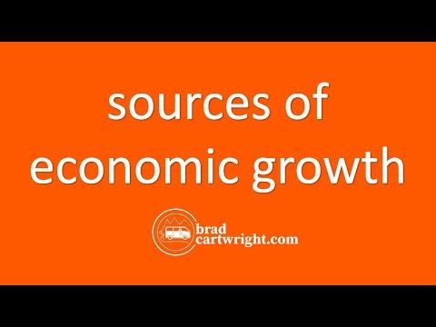 Economic Development Series:  Sources of Economic Growth
