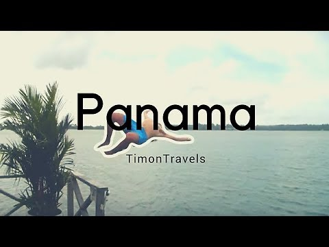 I tried to backflip in Panama! | Central America Travel