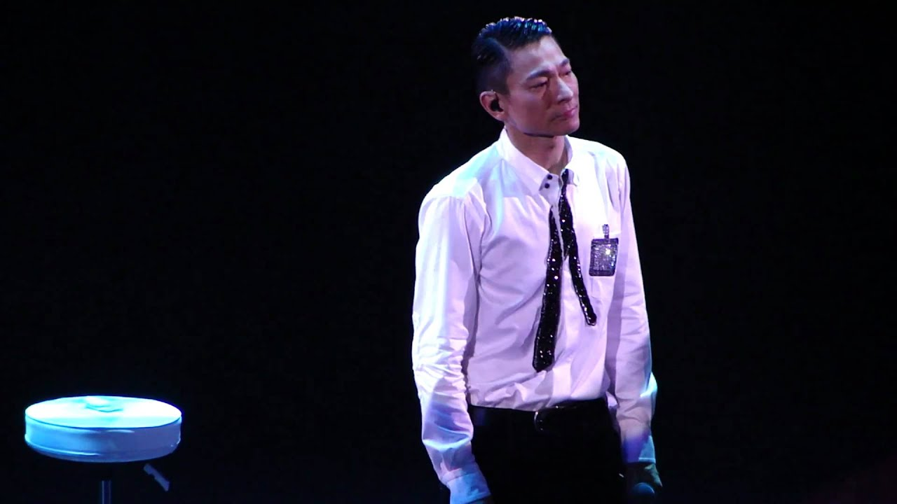 劉德華Unforgettable演唱會仍唱我的歌 - YouTube