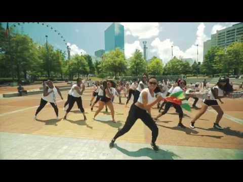 Atlanta Ga First Caribbean Soca Flash Mob presented by Trizzle Ent.
