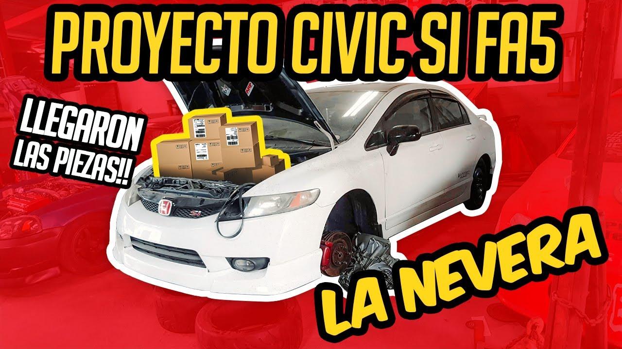 Proyecto Honda #CIVIC SI #K20 - ❄️❄️¡LA NEVERA EP. 2 !❄️❄️ - Muchas Piezas y Partes para el 8th Gen