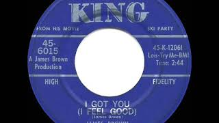 1965 HITS ARCHIVE: I Got You (I Feel Good) - James Brown (a #1 record)