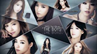 Girls Generation-The Boys( Instrumental Ver.)