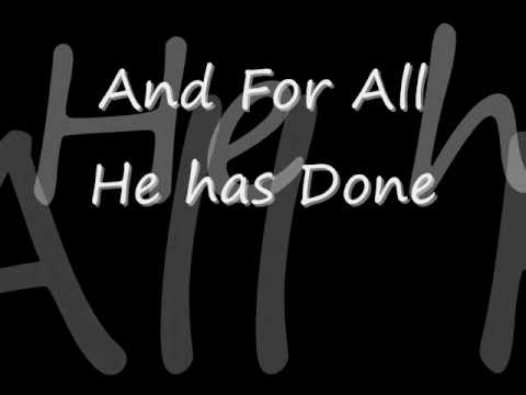 """MercyMe """"All of Creation"""""""