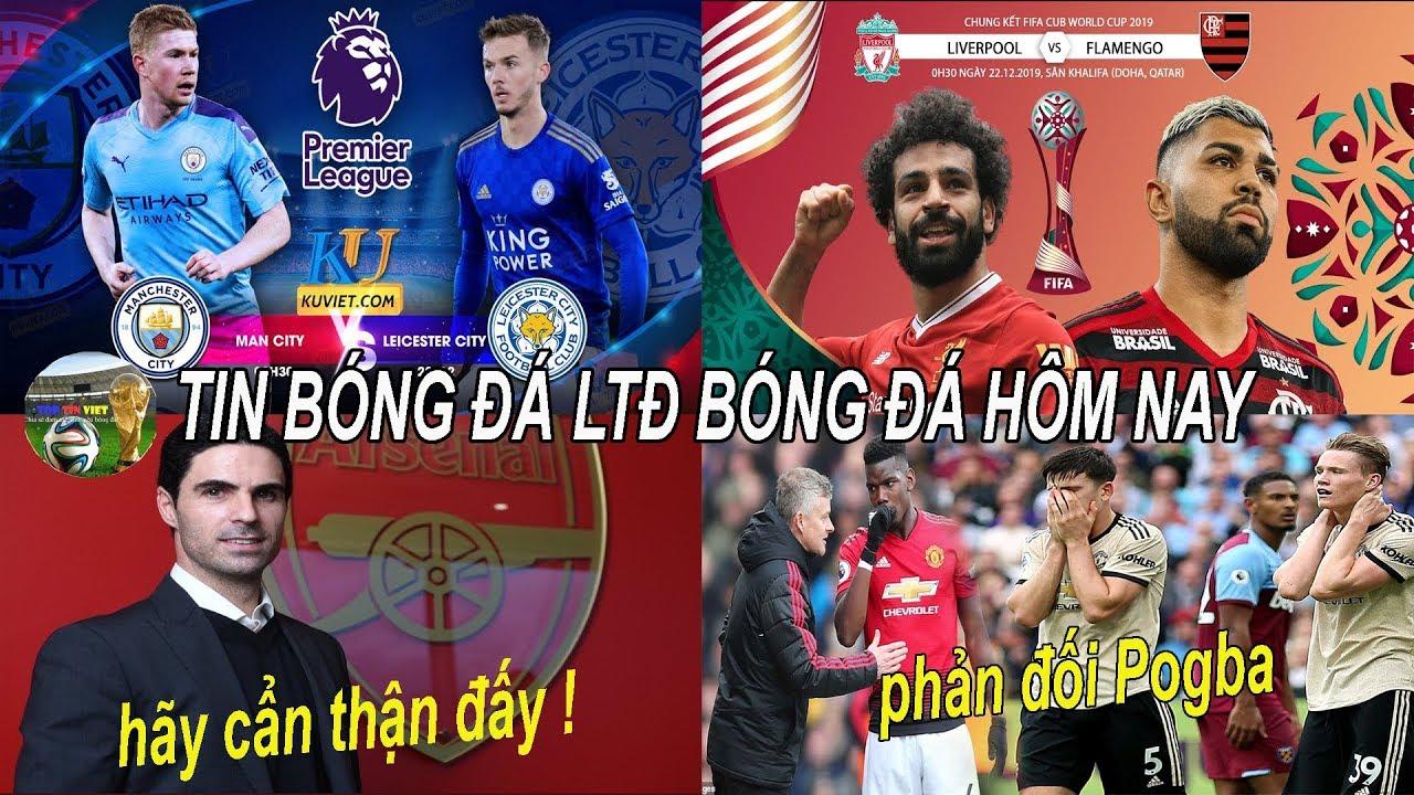 💥Tin bóng đá 21/12| Cầu thủ MU phản đối Pogba , đại chiến Man City vs Leicester City rực lửa